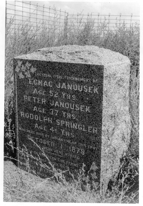 Grave marker, Rawlins County, Kansas - 2