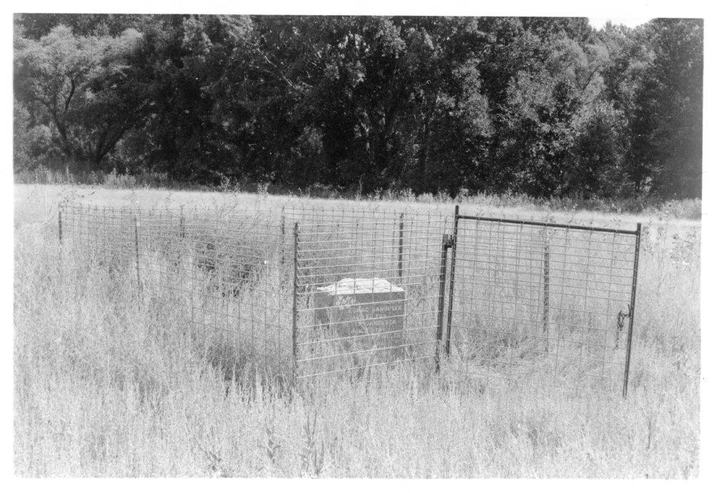 Grave marker, Rawlins County, Kansas - 4
