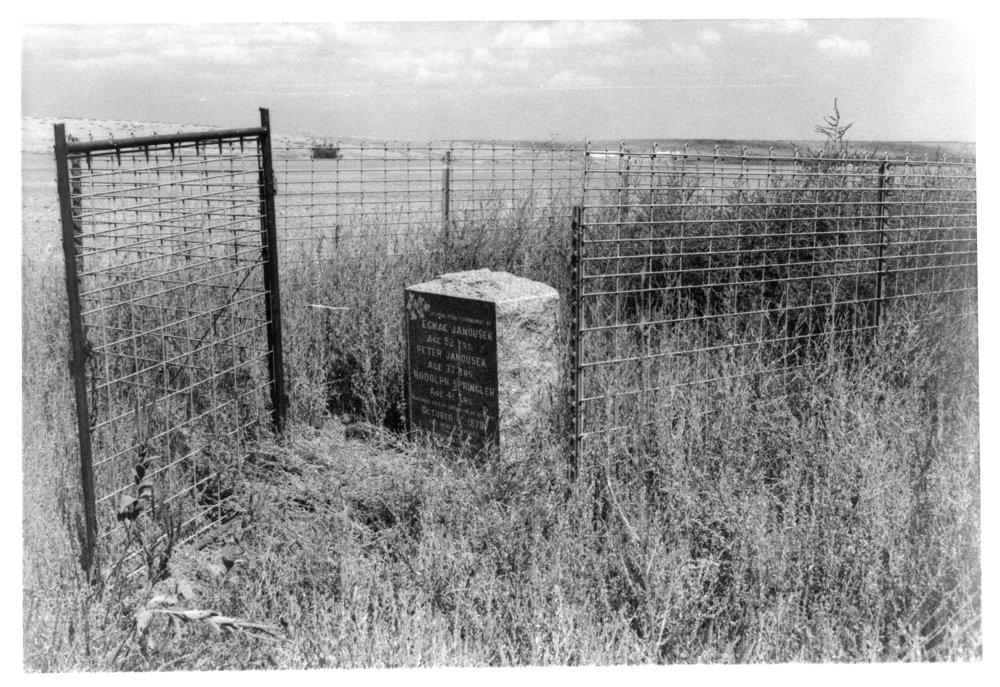 Grave marker, Rawlins County, Kansas - 6