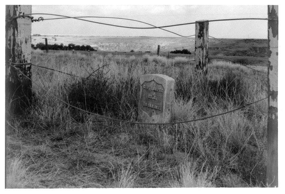 Grave marker of Christian F. Hamper, Rawlins County, Kansas - 4
