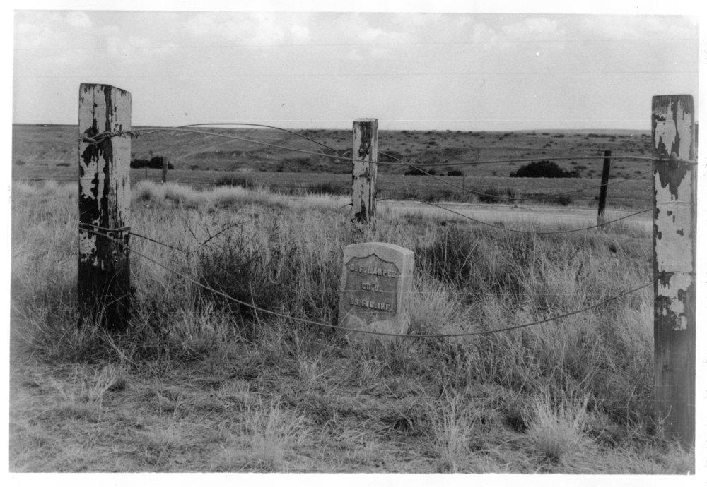 Grave marker of Christian F. Hamper, Rawlins County, Kansas - 8