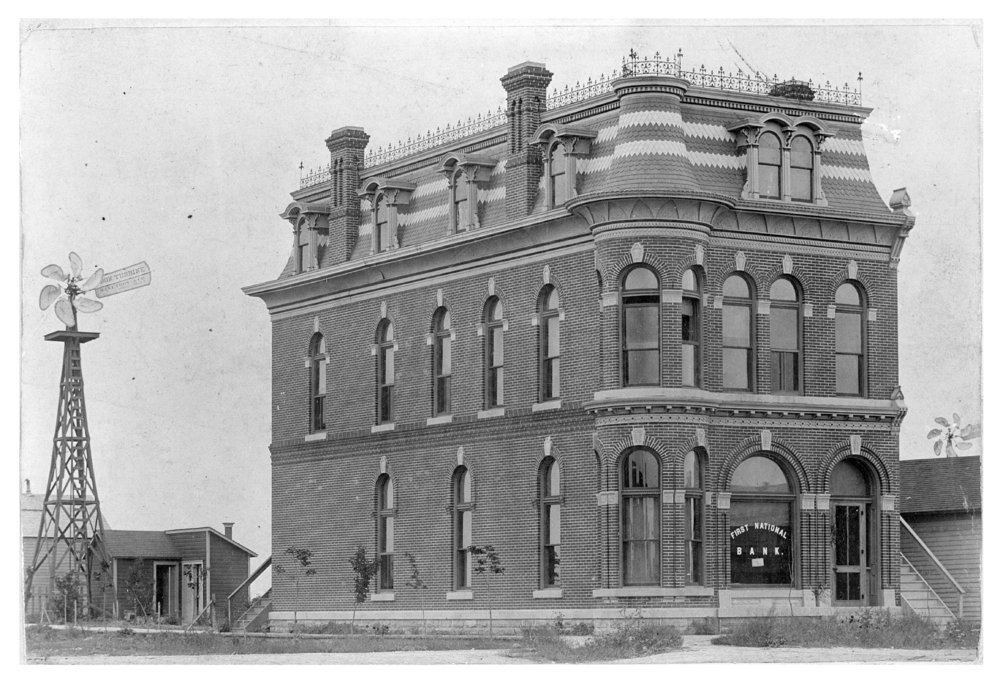 First National Bank building, Dighton, Lane County, Kansas - 2