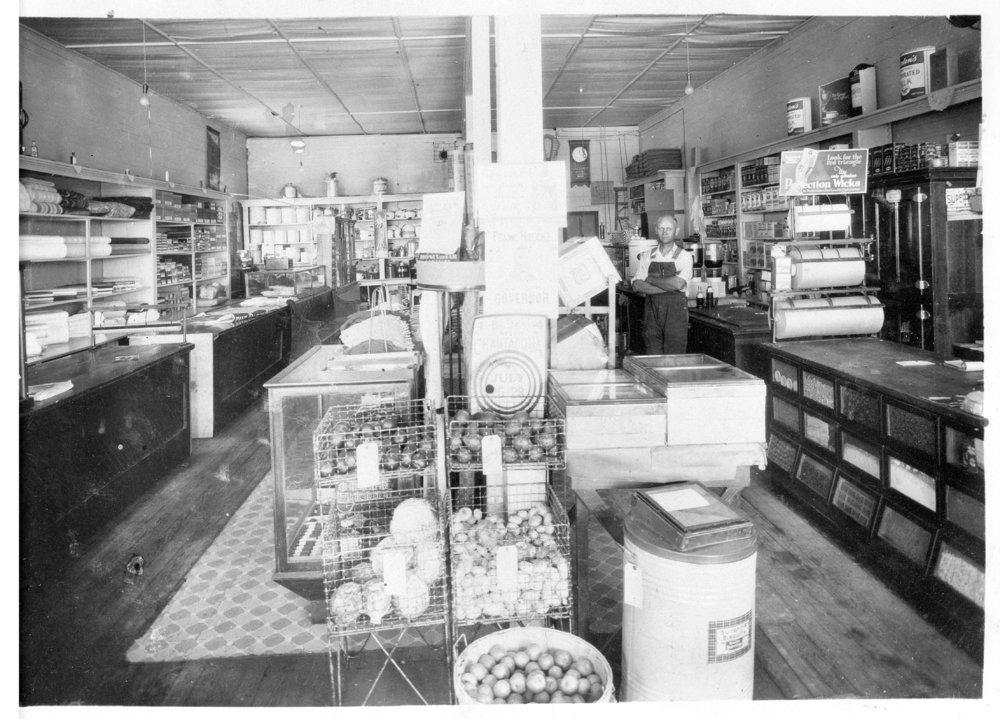 Amy general store, Dighton, Lane County, Kansas