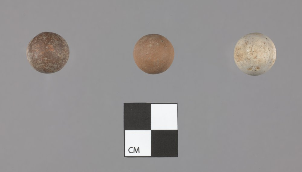 Marbles from the Thomas Johnson/Henry Williams Dugout Site 14GH102 - 2