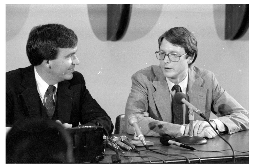 Governor John Carlin and Lieutenant Governor Thomas Docking - 4