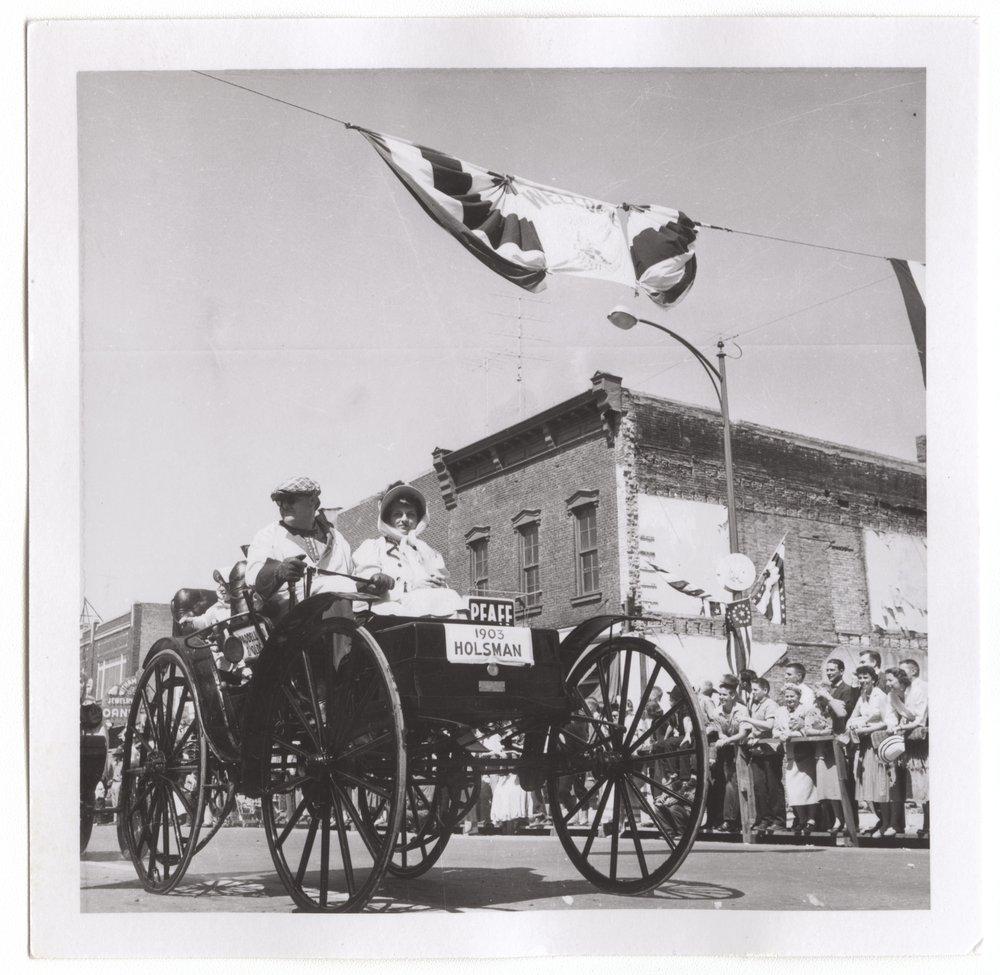 Centennial parade, Salina, Kansas - 1