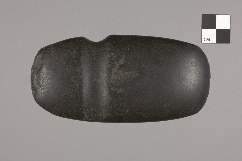 3/4 Grooved Axe from Geary County - 2