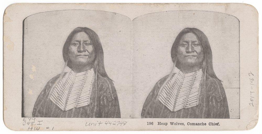 Heap Wolves, Comanche Chief