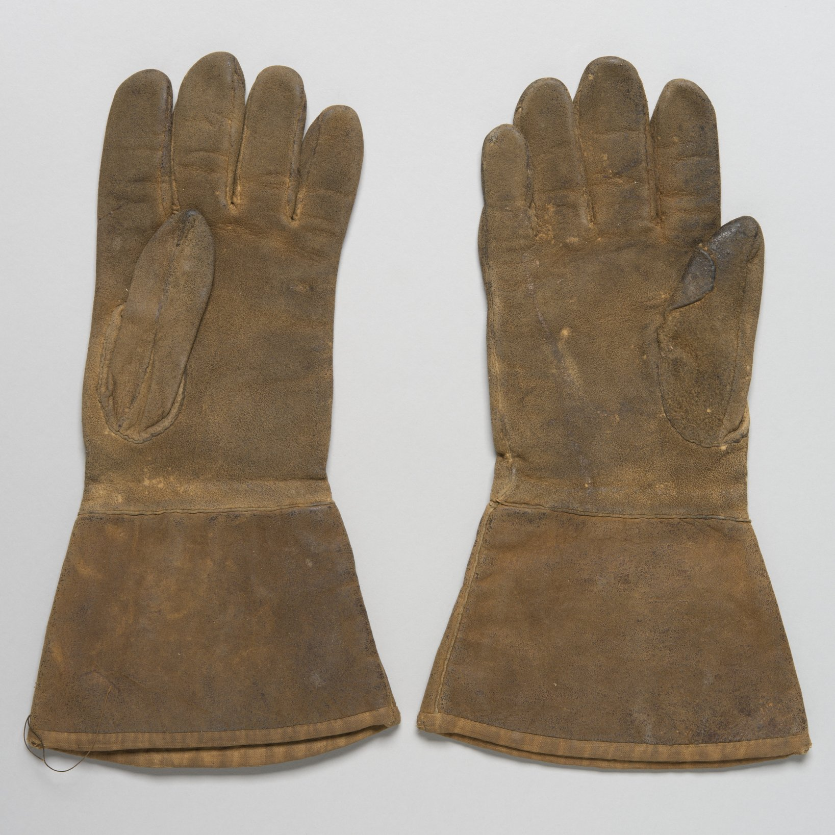 Buckskin Gloves - 2