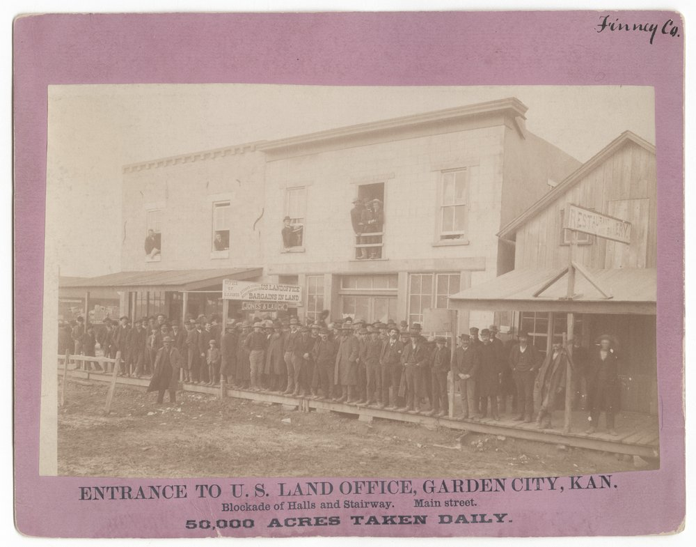 U.S. Land Office in Garden City, Kansas - 1