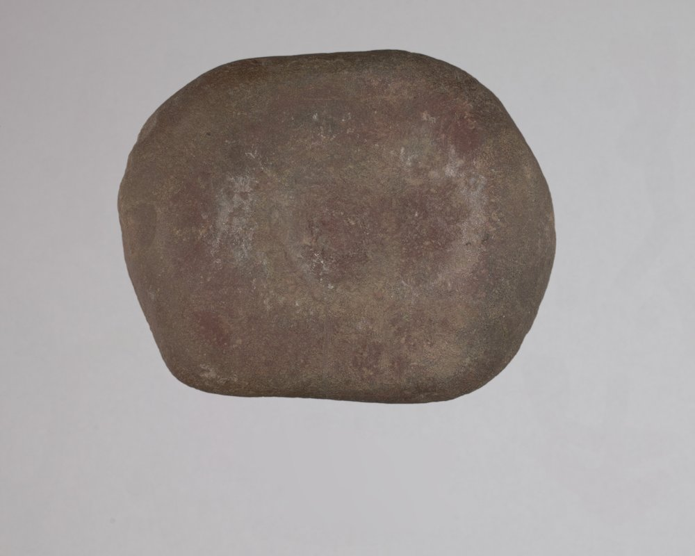 Mano and Nutting Stone from the Curry Site, 14GR301 - 1