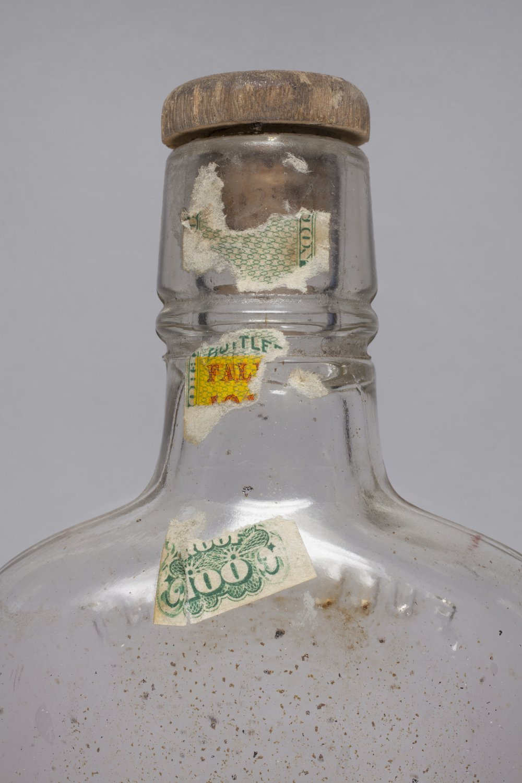 Liquor Bottle from Shawnee Indian Mission, 14JO362 - 4