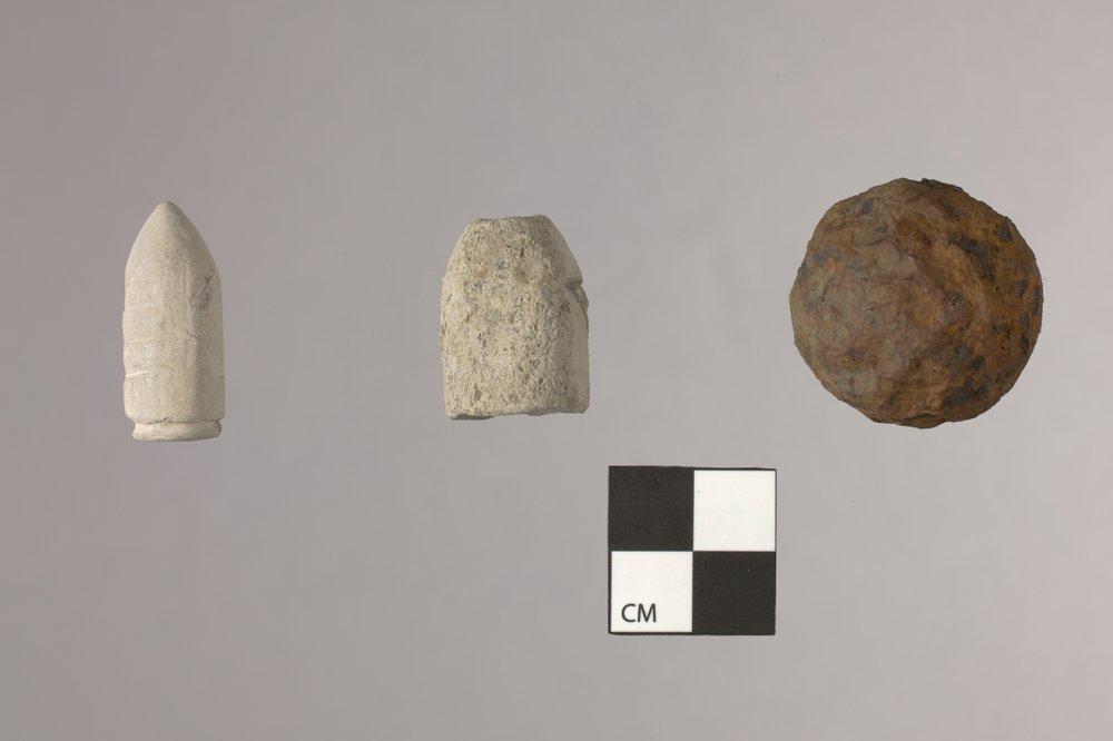 Ammunition from the Mine Creek Civil War Battlefield, 14LN337 - 2