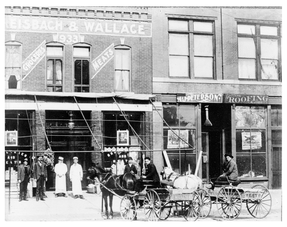Dreisbach and Wallace Grocery Store