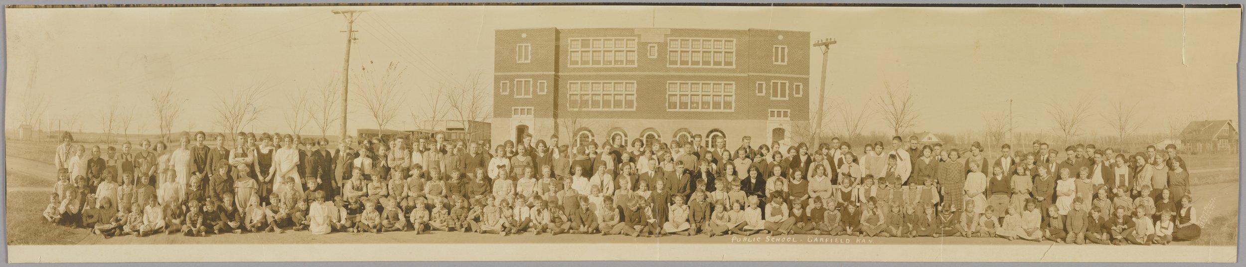 High school students in Garfield, Kansas - 1