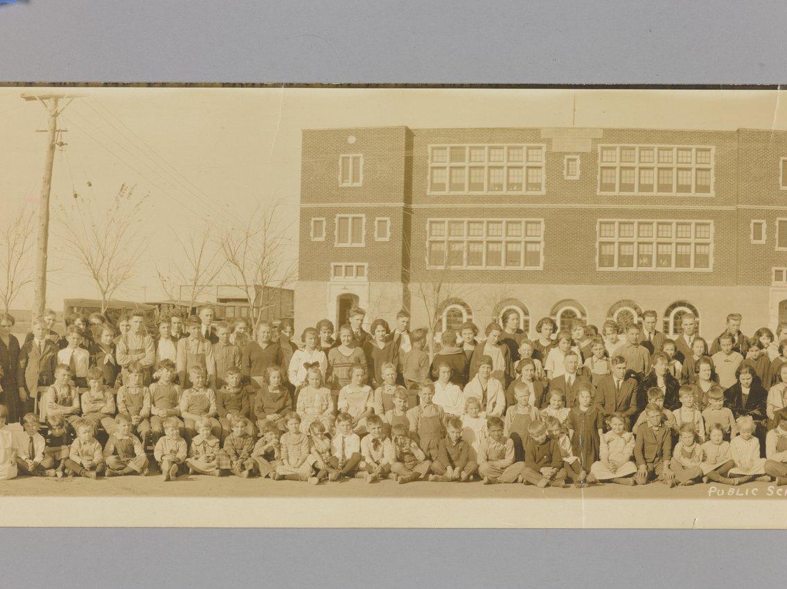 High school students in Garfield, Kansas - 3