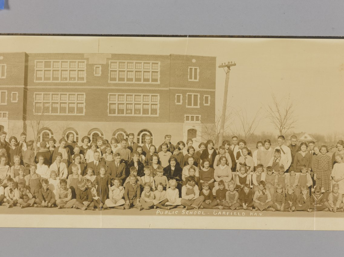 High school students in Garfield, Kansas - 4