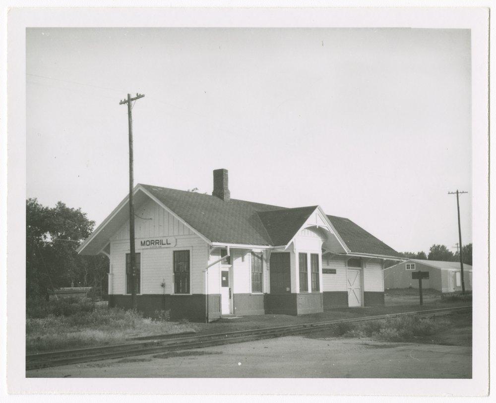 Union Pacific Railroad Company depot, Morrill, Kansas - 1