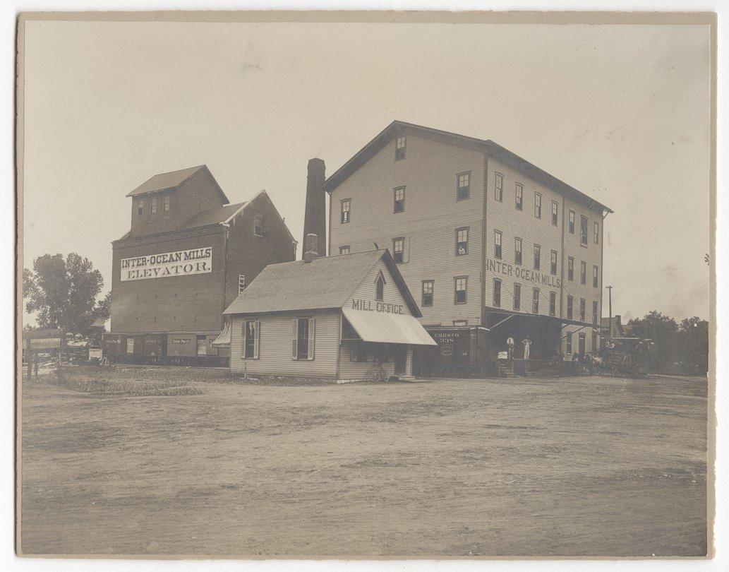 Inter-Ocean Mills in Topeka, Kansas - Kansas Memory - Kansas
