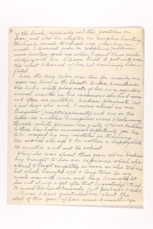 Dr. Karl Menninger Ladies Home Journal Letters 142-159 - 7