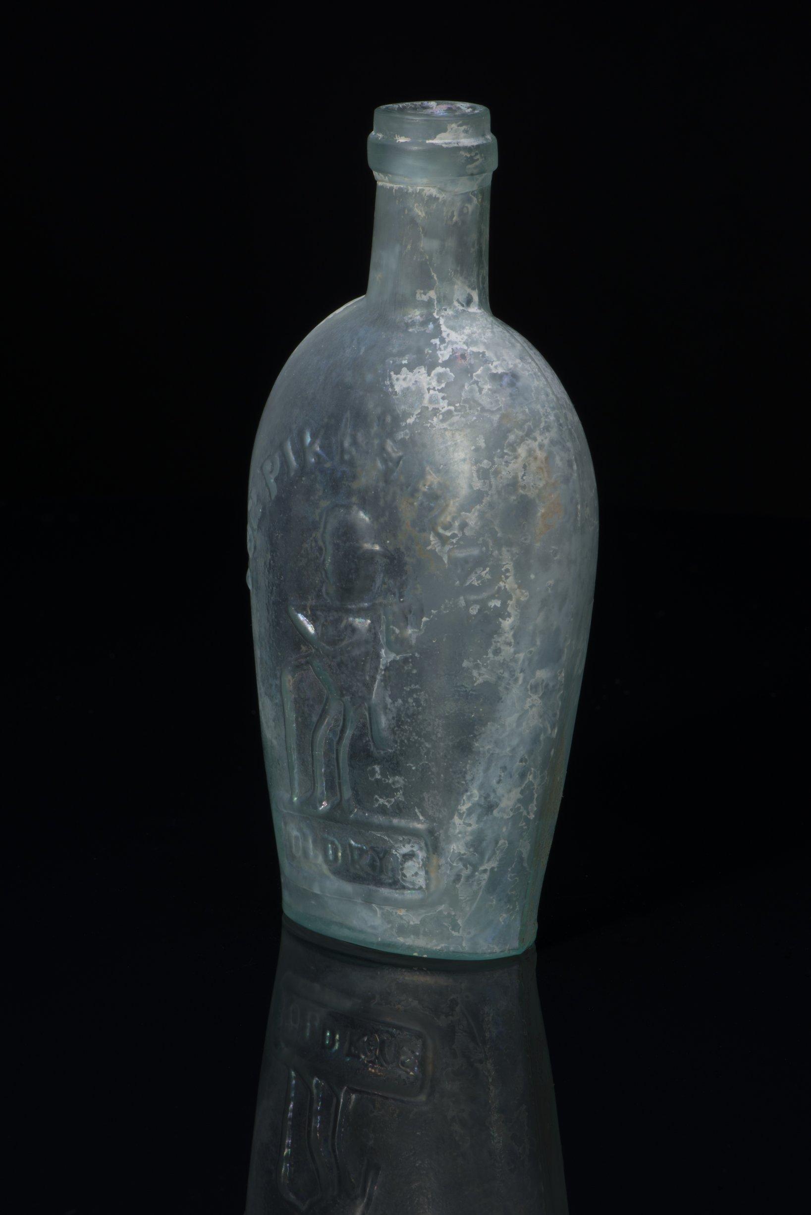 Pike's Peak Flask from Fort Hays, 14EL301 - 5