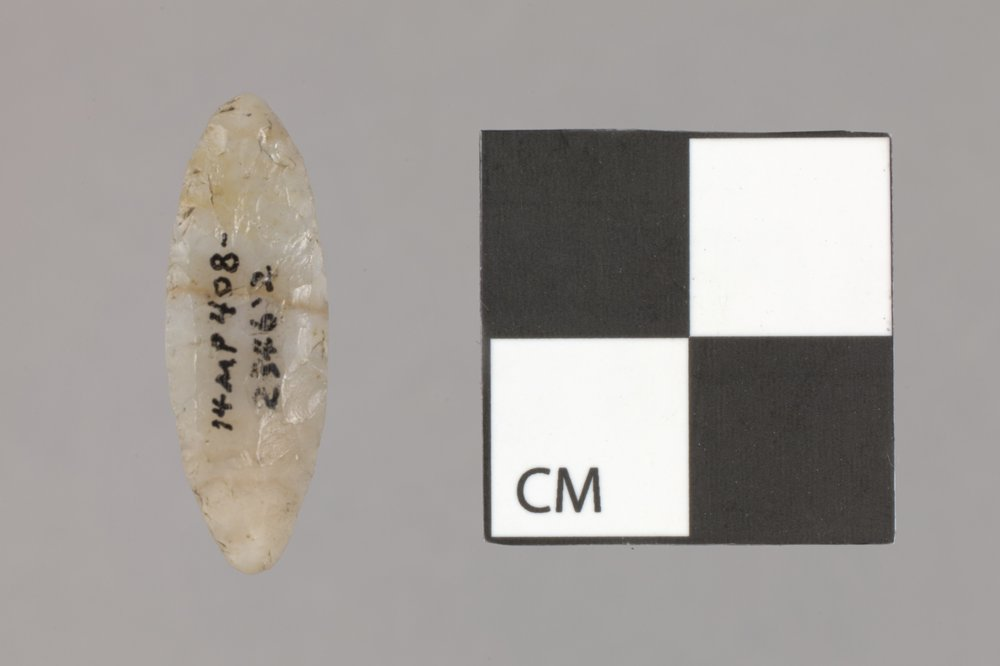 Diminutive Biface from the Sharps Creek Site, 14MP408 - 2