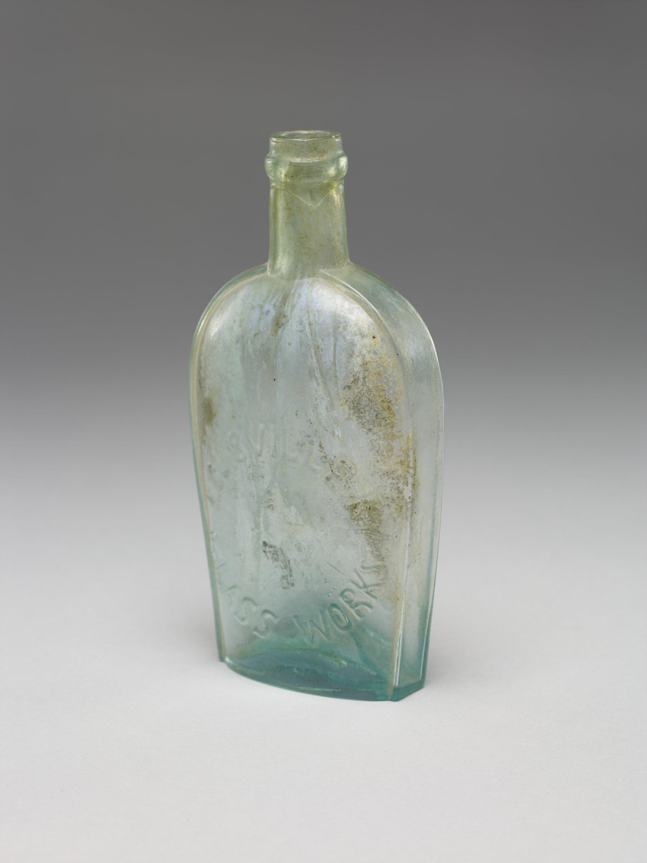 Flask from Fort Scott, 14BO302 - 2