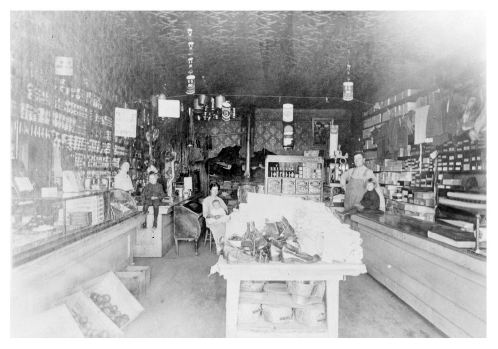 General merchandise store, Halford, Thomas County, Kansas