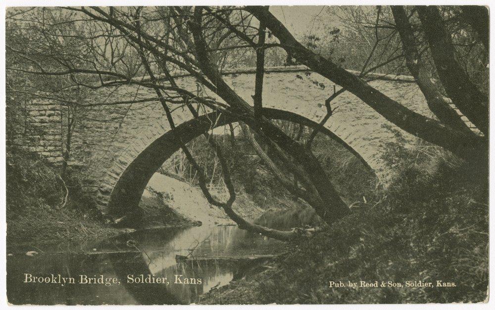 Brookly Bridge, Solider, Kansas - 1
