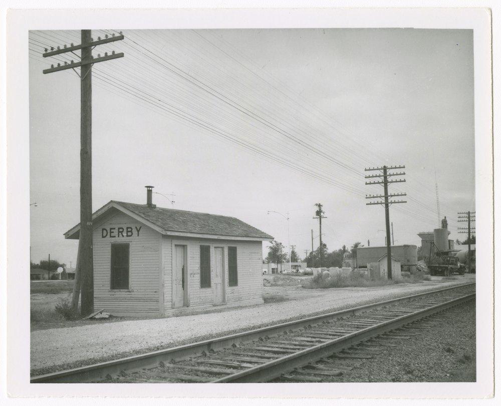 Atchison, Topeka and Santa Fe Railway Company depot, Derby, Kansas - 1