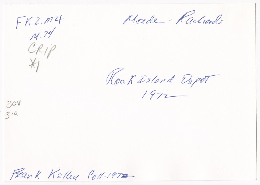 Chicago, Rock Island & Pacific Railroad depot, Meade, Kansas - 2
