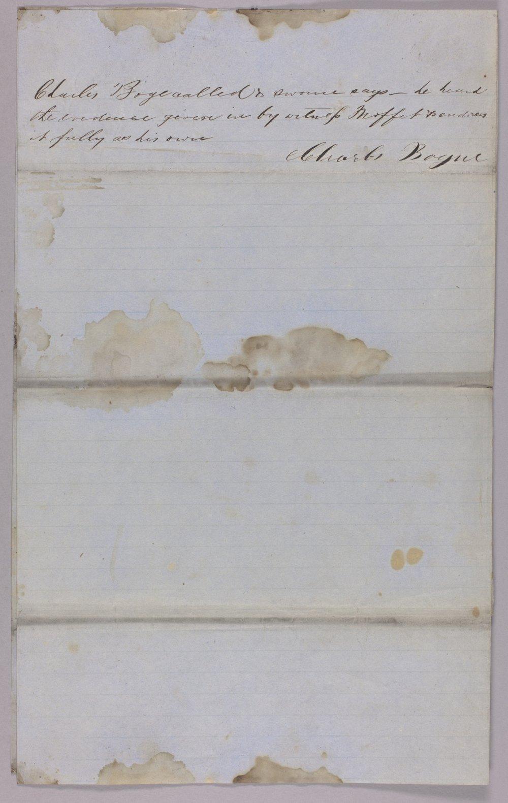 Kansas Territory versus A. J. Armstrong for assault on Orlando Moffitt - 4
