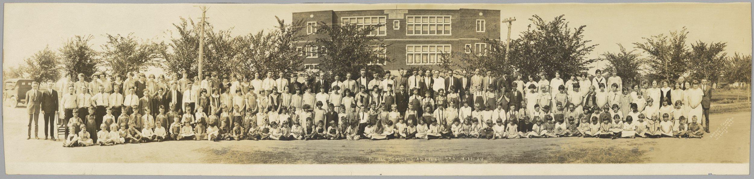 Garfield public school panoramic - 1