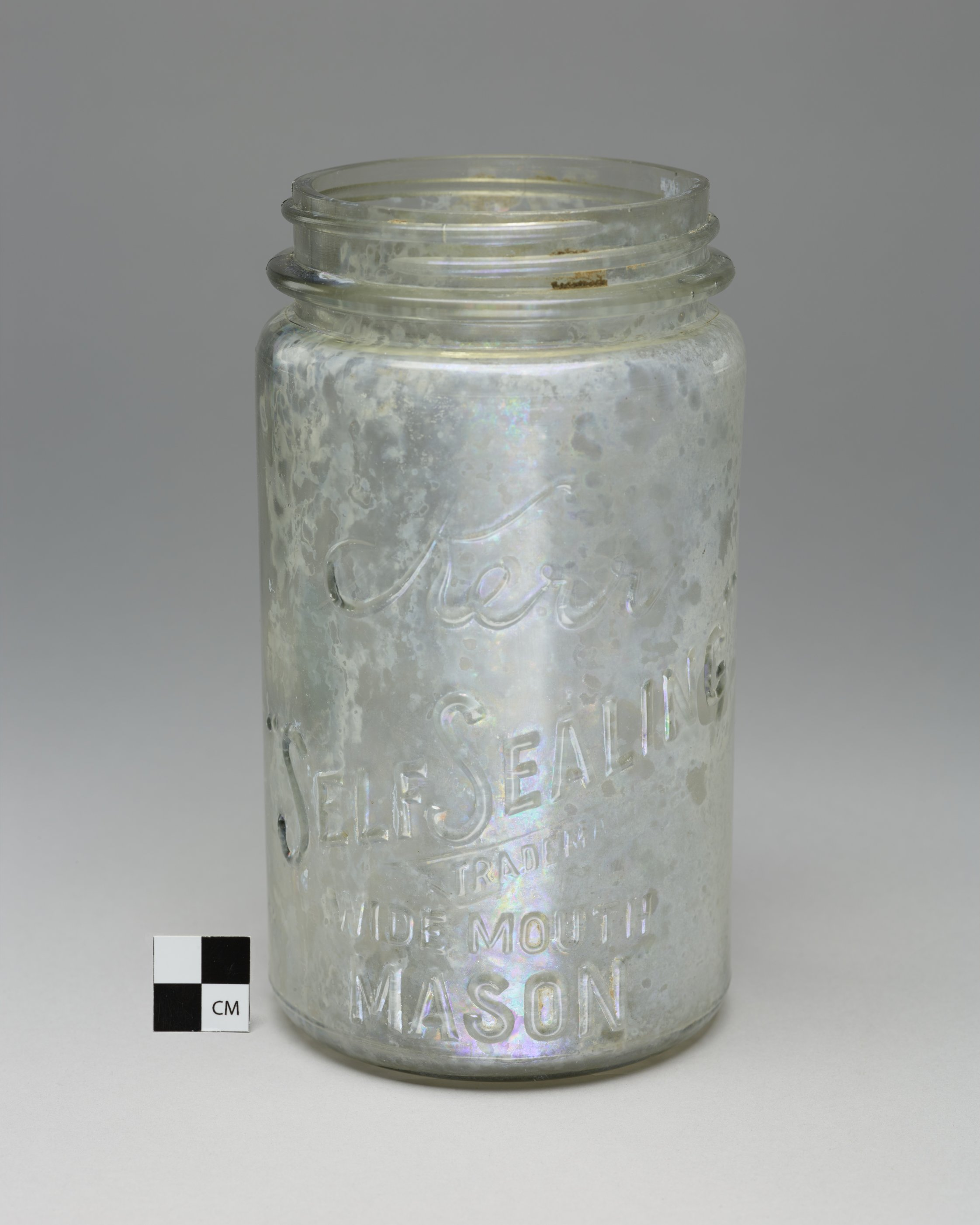 Kerr Canning Jar from the Thomas Johnson/Henry Williams Dugout Site, 14GH102 - 3