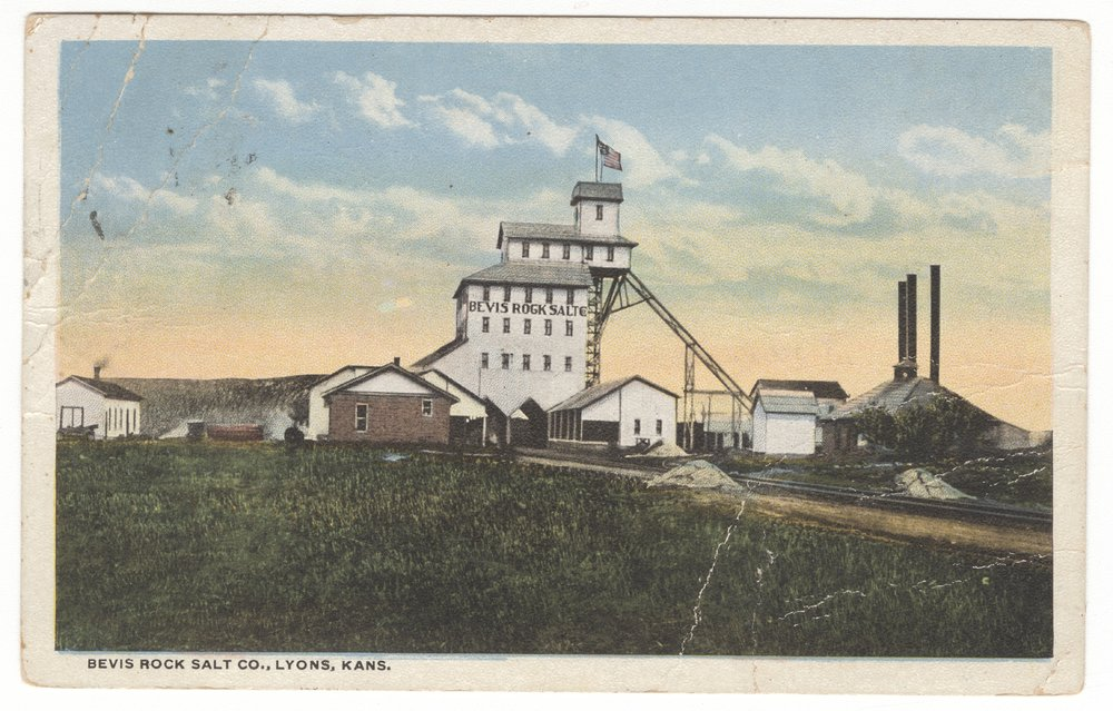 Bevis Rock Salt Company in Lyons, Kansas - 1