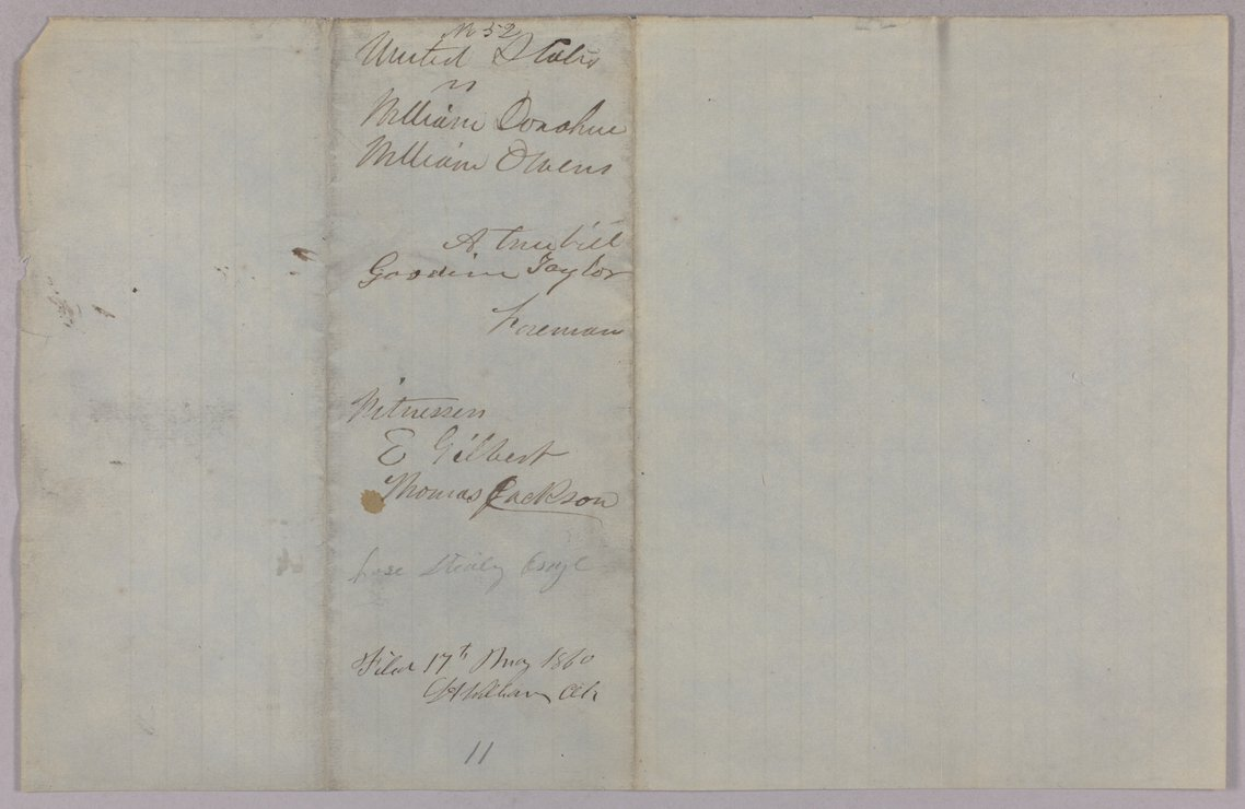 United States versus William Donahue and William Owens for taking Osage property - 3