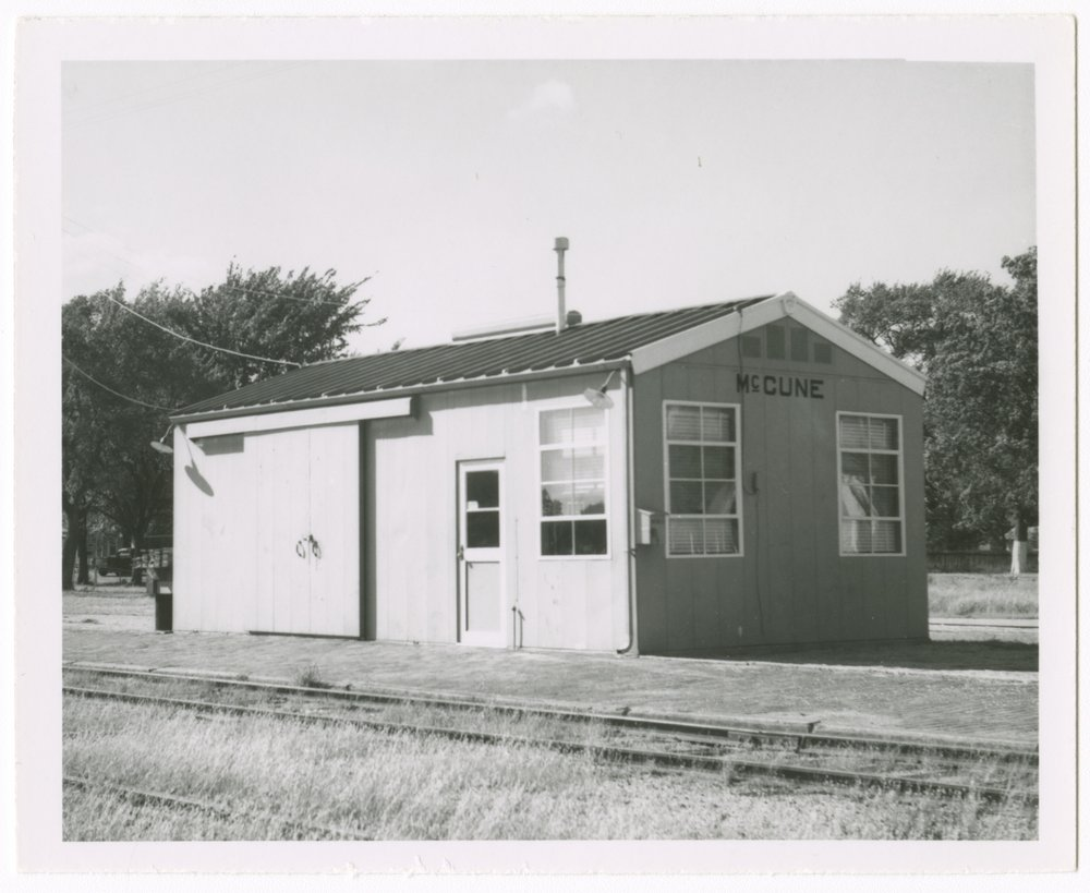 St. Louis-San Francisco Railway box depot, McCune, Kansas - 1