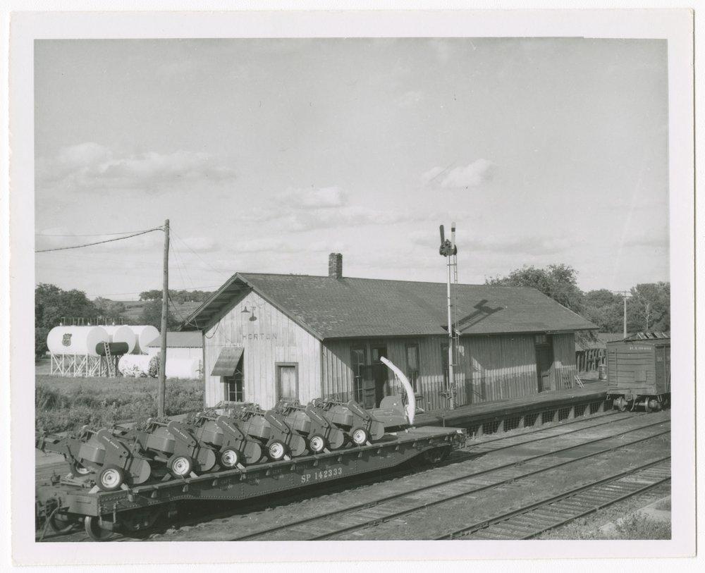 Chicago, Rock Island & Pacific Railroad depot, Horton, Kansas - 1