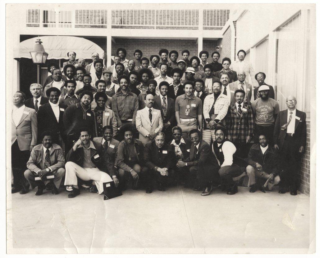 Omega Psi Phi fraternity, Washburn University, Topeka, Kansas - 1