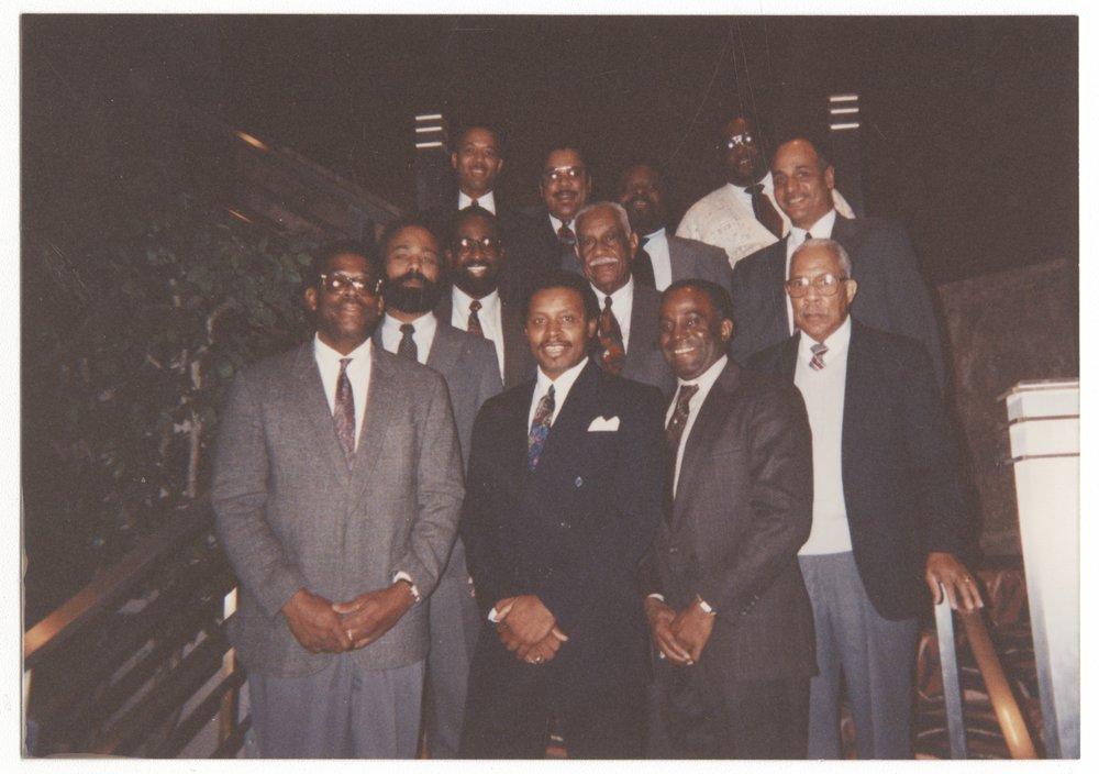 Omega Psi Phi fraternity, Washburn University, Topeka, Kansas - 4