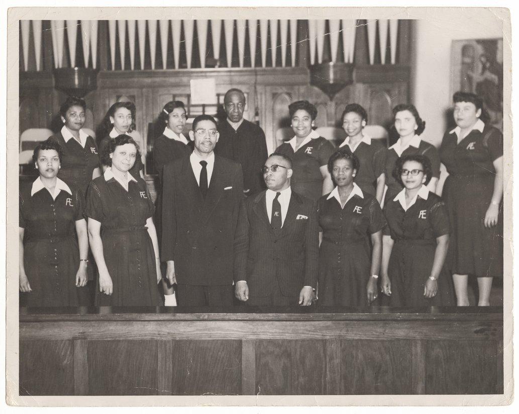 Aeolian Choir, St. John African Methodist Episcopal Church, Topeka, Kansas - 1