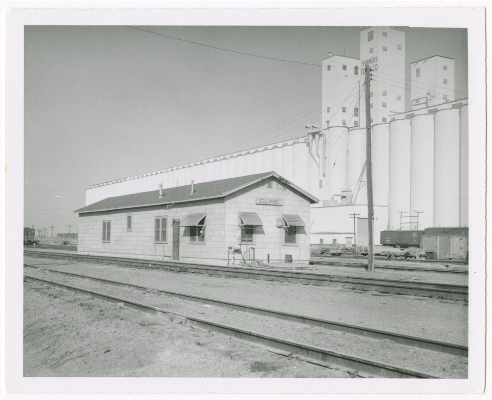 Chicago, Rock Island & Pacific Railroad depot, Cline, Kansas - 1