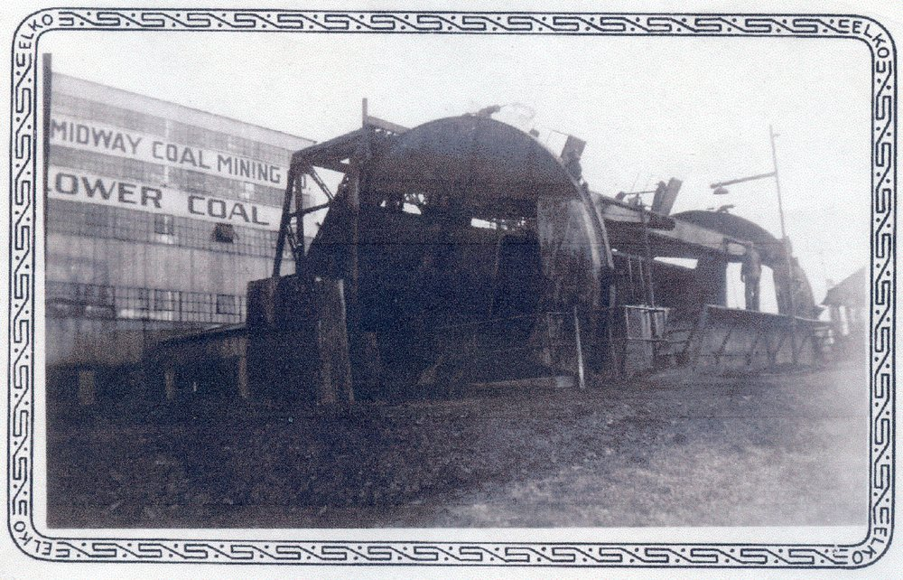Mineral mining camp, Cherokee County, Kansas - Front
