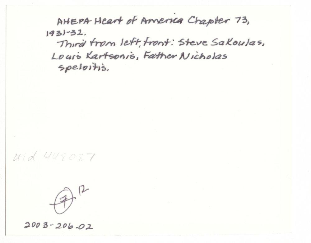 AHEPA Heart of America Chapter 73, Kansas City, Missouri - 2