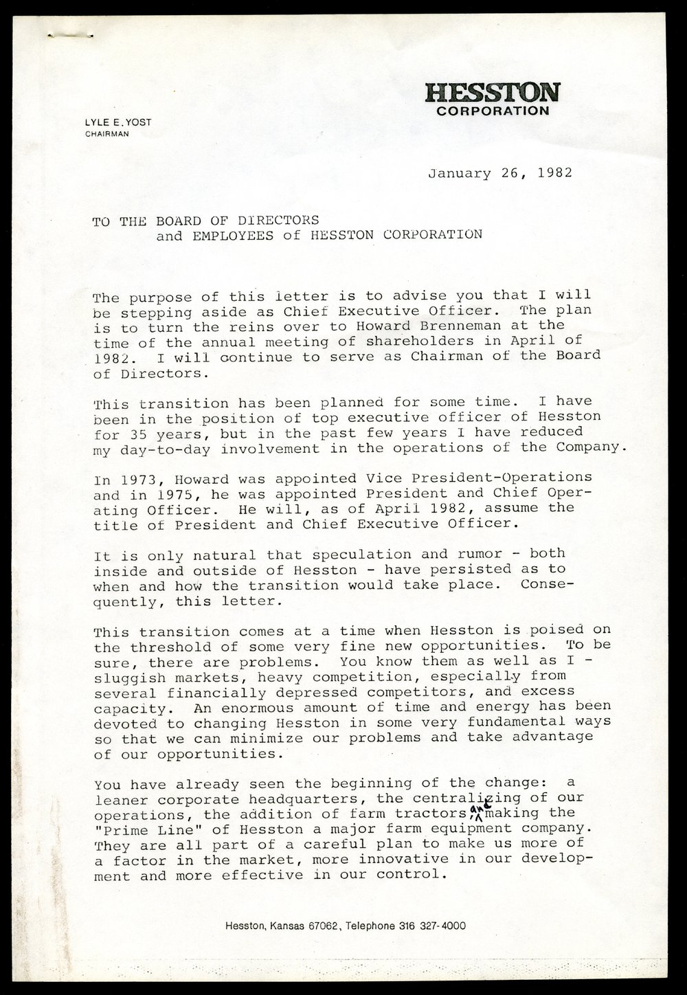Retirement Letter To Employees from img.kansasmemory.org