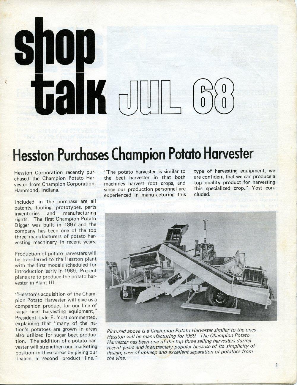 Shop Talk newsletter - Kansas Memory - Kansas Historical Society