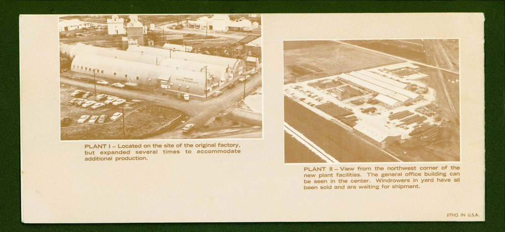 Hesston Manufacturing Company booklet - p8