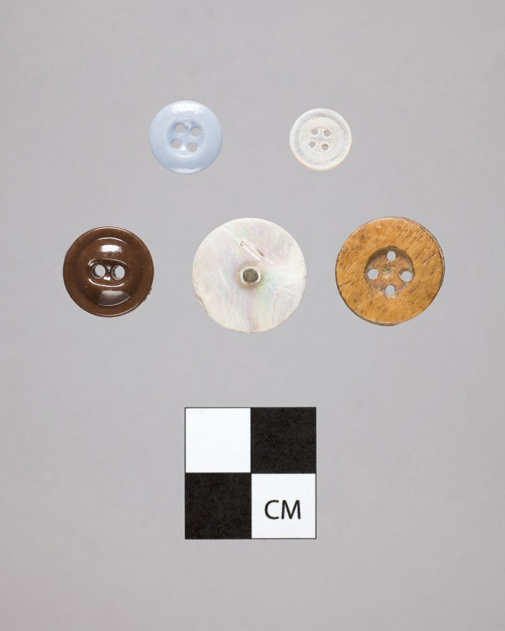 Buttons from the Iowa and Sac and Fox Mission, 14DP384 - 2