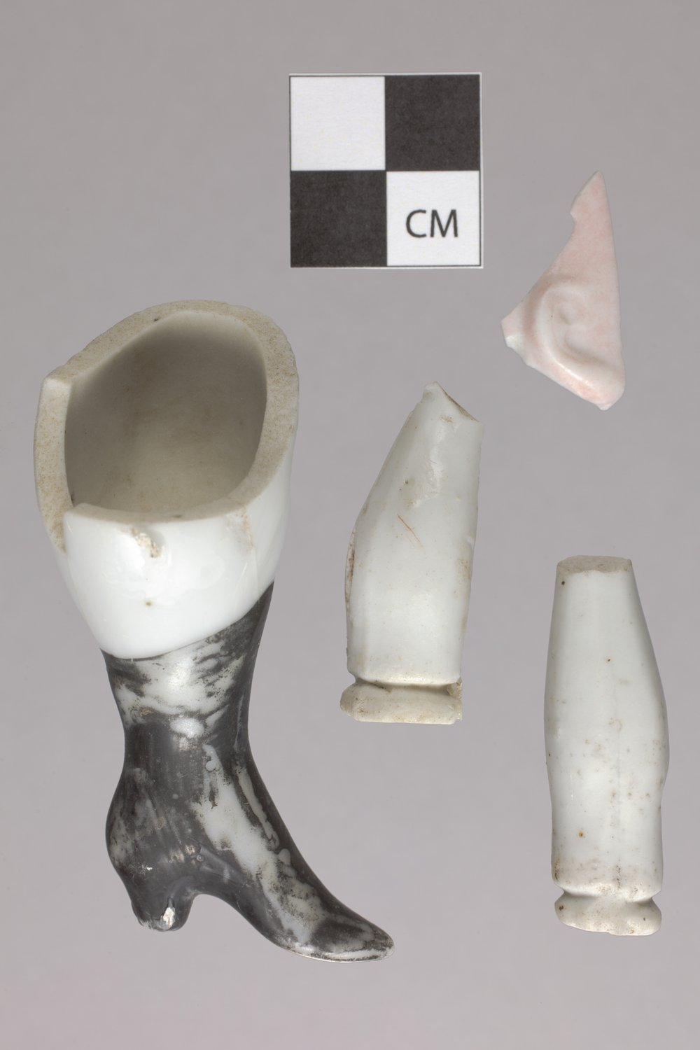 Doll Fragments from the Plowboy Site, 14SH372 - 2
