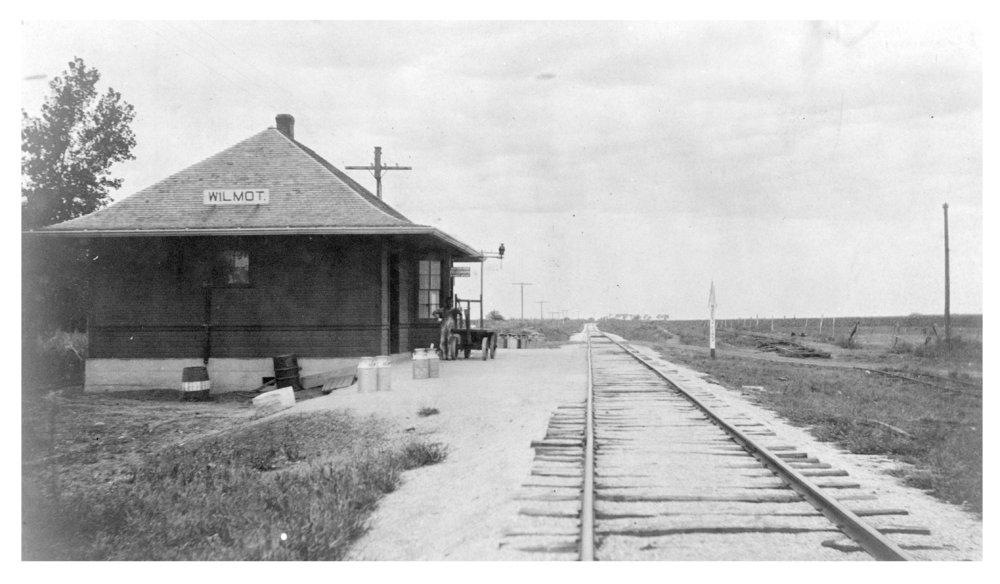 St. Louis-San Francisco Railway depot, Wilmot, Kansas